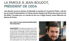Interview de Maître Jean BOUDOT, président de l'Ecole des Avocats de la Région Sud-Est