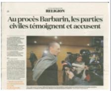 La Croix Affaire Barbarin