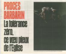 Libération Affaire Barbarin
