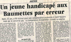 Affaire Medjelleck, article la Provence