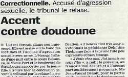 Affaire Walid, article la Marseillaise
