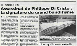 Affaire Sordi, article Nice Matin