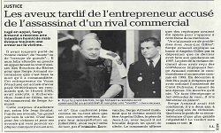Affaire Armand, article La Provence