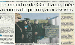 Affaire Ghofrane Haddaoui, article La Provence