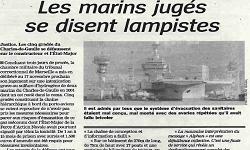 Affaire porte-avions Charles de Gaulle, article La Marseillaise