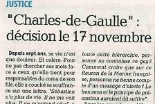 Affaire du porte-avions Charles de Gaulle, article la Provence