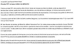 Affaire dite des prothèses PIP - Cour d'Appel d'Aix-en-Provence
