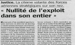 Affaires Boeing C135, article La Marseillaise