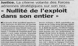 Affaires Boeing C135, article La Marseillaise