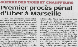 Affaire UBER, article la Provence
