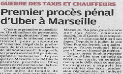 Affaire UBER, article la Provence