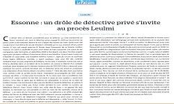Affaire LEULMI, Blog le Parisien
