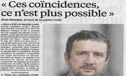 Affaire LEULMI, article Le Parisien